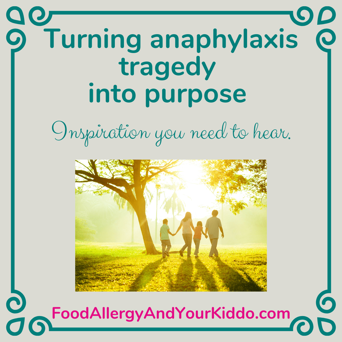 anaphylaxis Allison Rose