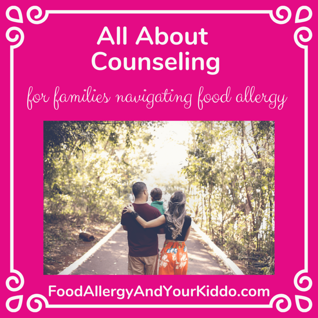 food allergy counseling